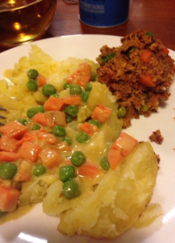 Creamed Peas and Carrots