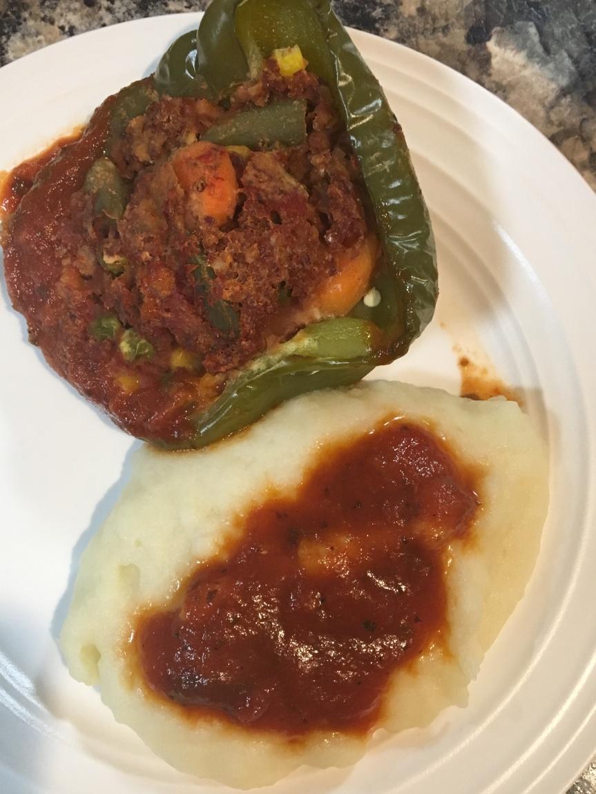 Veggie Stuffed Peppers