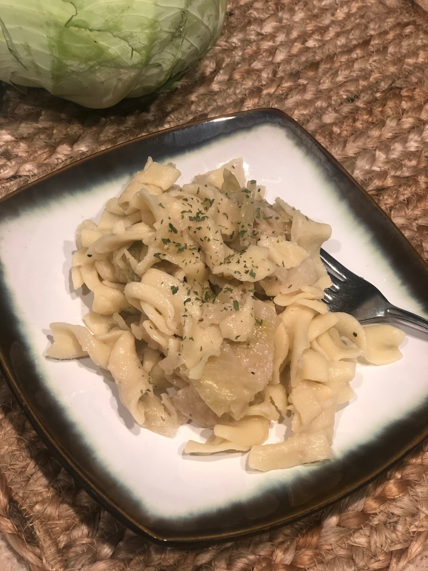 Old Fashioned Cabbage and Noodles